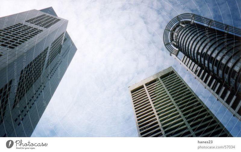 Singapore Downtown High-rise Business District Thailand Asia Banking district Sky boomtown