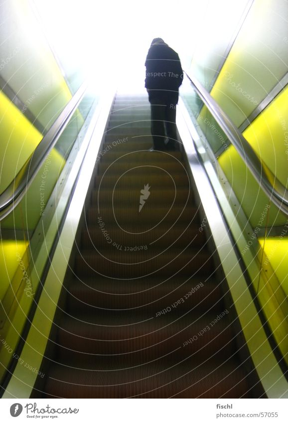 Senior citizen Stairs Broken Fragile Zurich Enchanting Escalator Expressway exit Pearly Gates Cool-headed Male senior