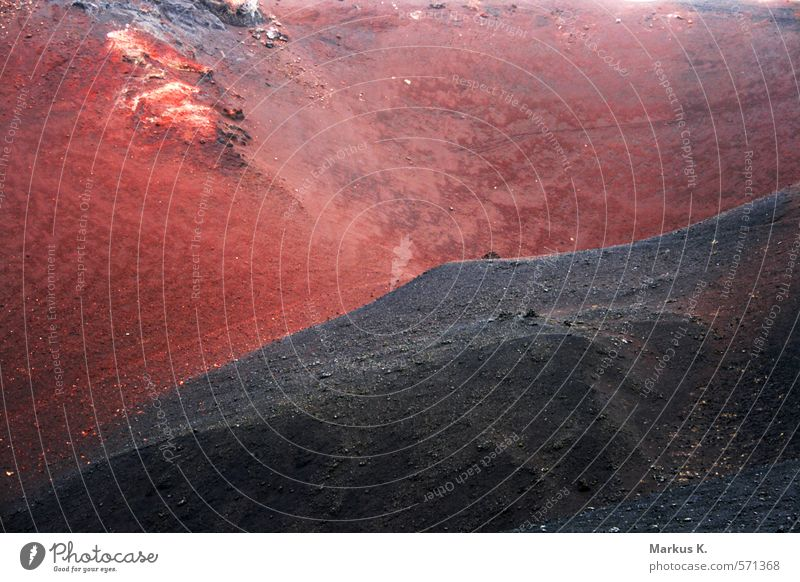Nature Red Landscape Dark Black Mountain Warmth Earth Power Esthetic Island Threat Adventure Elements Exotic Bizarre