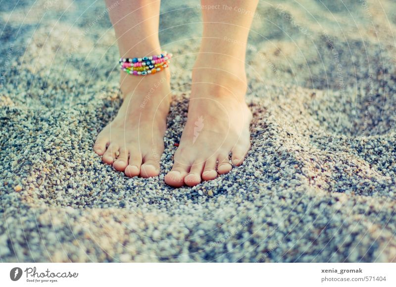 Human being Child Nature Vacation & Travel Youth (Young adults) Summer Sun Ocean Young woman Girl Beach Far-off places 18 - 30 years Adults Environment Life