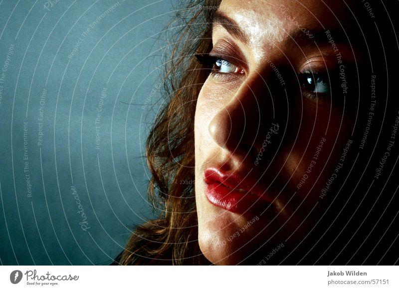 Woman Calm Fresh Pure Serene Curiosity Erudite