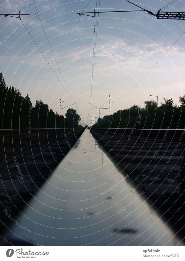 Railroad Perspective Railroad tracks