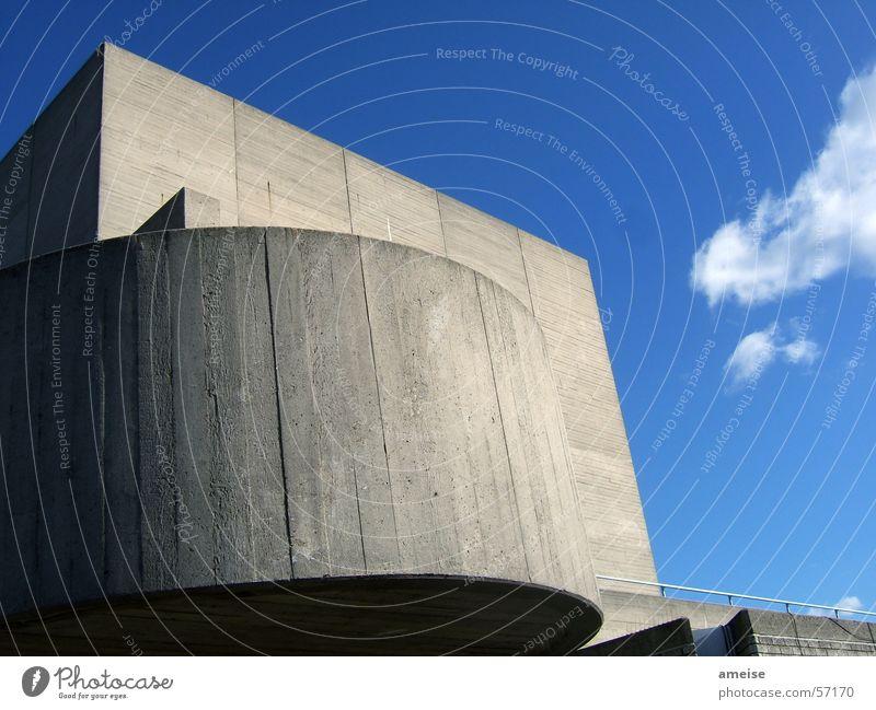 Sky Sun Blue House (Residential Structure) Clouds Stone Building Concrete Academic studies Film industry London