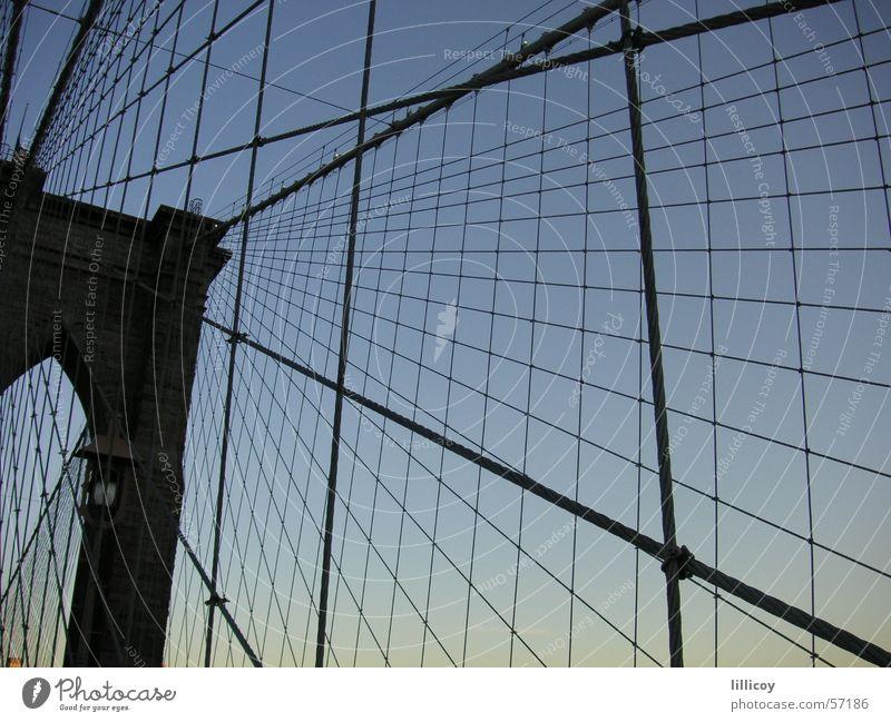 Bridge New York City Brooklyn