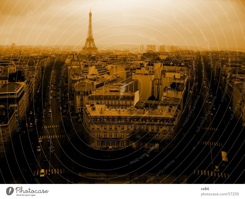 Paris d'orange - magic in the air France Transport Eiffel Tower Magic Capital city Underground French francais Human being Street Old New Sky blah blah blah etc