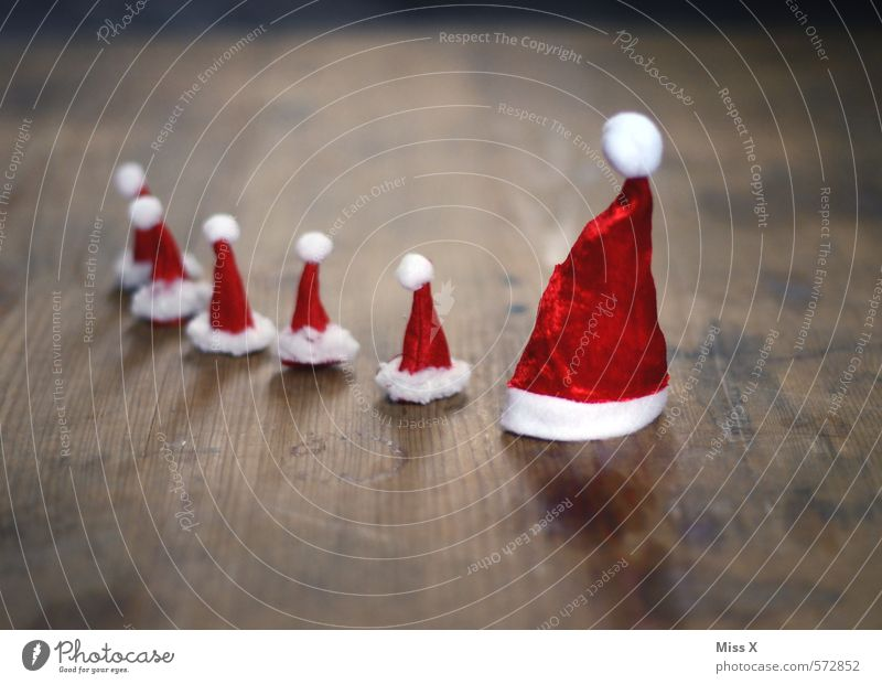 many lice and a Klaus Decoration Christmas & Advent Child Parents Adults Family & Relations Life Head Group Group of children Cap Small Astute Cute Emotions