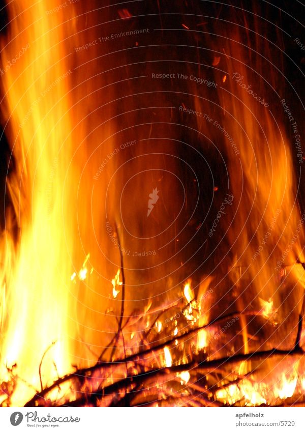 Blaze Photographic technology Summer solstice