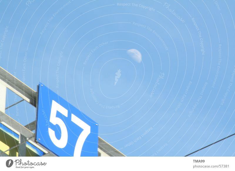 Sky Blue Railroad Moon Blue sky Motorail