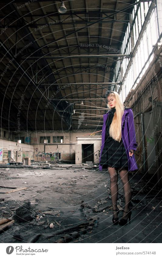 #574148 Elegant Style Adventure Living or residing Night life Feasts & Celebrations Woman Adults Life Event Industrial plant Ruin Architecture Fashion Skirt