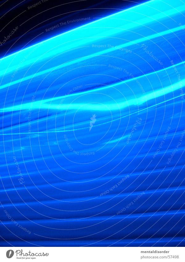 Blue Lamp Dark Bright Brown Lighting Power Waves Energy industry Electricity Deep Sunbathing Idea Neon light Switch Glow