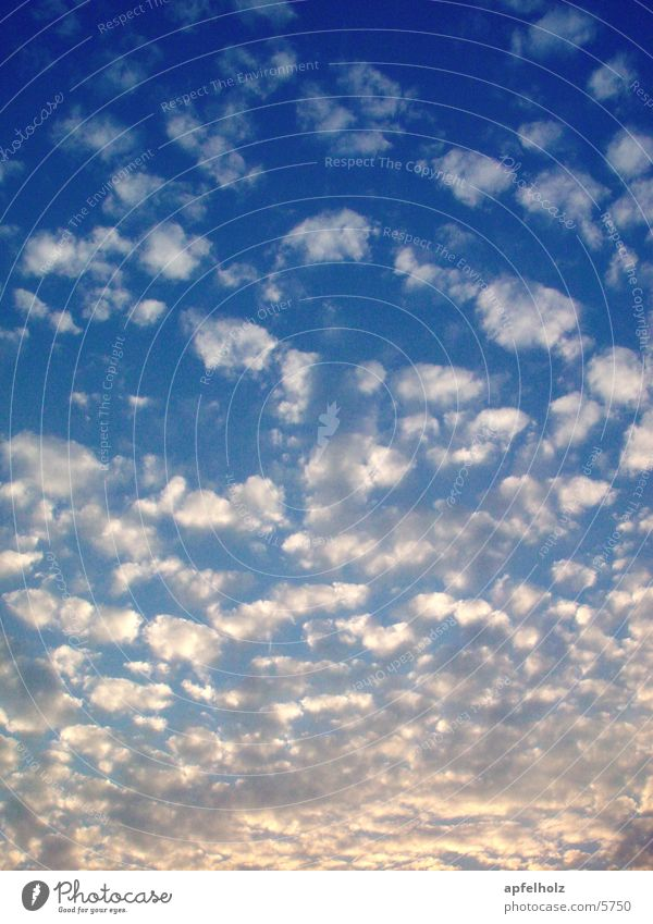 Nature Sky Clouds Blue-white