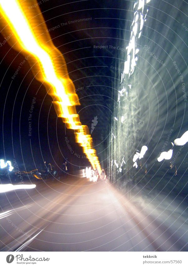 flash Light Speed Dark Railroad tracks Shadow Bridge Freeze almost Line Car