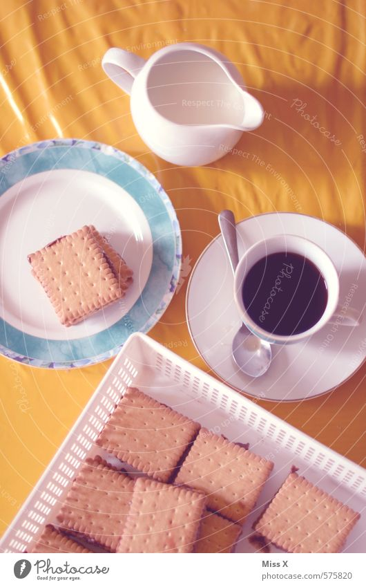 Dog Cold Food Nutrition Beverage Sweet Retro Coffee Candy Delicious Cake Crockery Cup Plate Baked goods Nostalgia