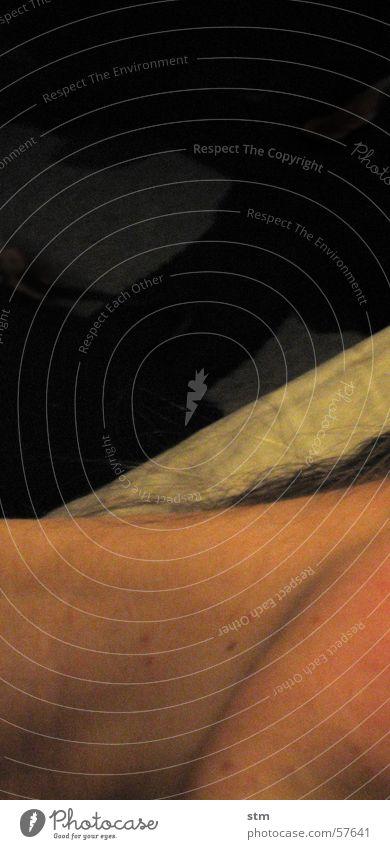 Dark Hair and hairstyles Dream Skin Sleep Bed Neck Sheet Chin Air mattress
