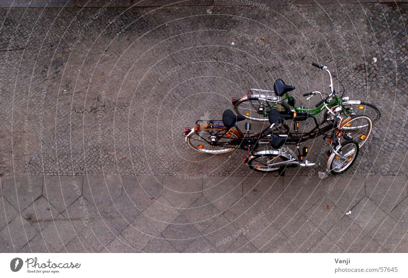 group photo Bicycle Together Bird's-eye view Multiple Classifying Street Lanes & trails