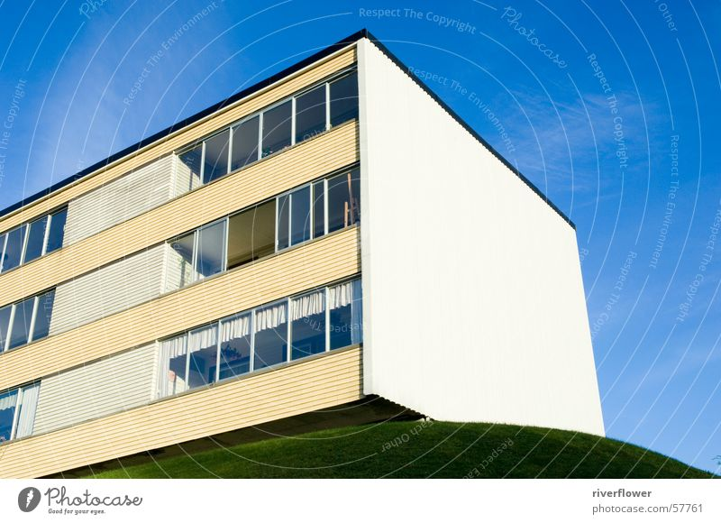 Norwegian prefabricated building House (Residential Structure) Concrete Light Abstract Structures and shapes Architecture