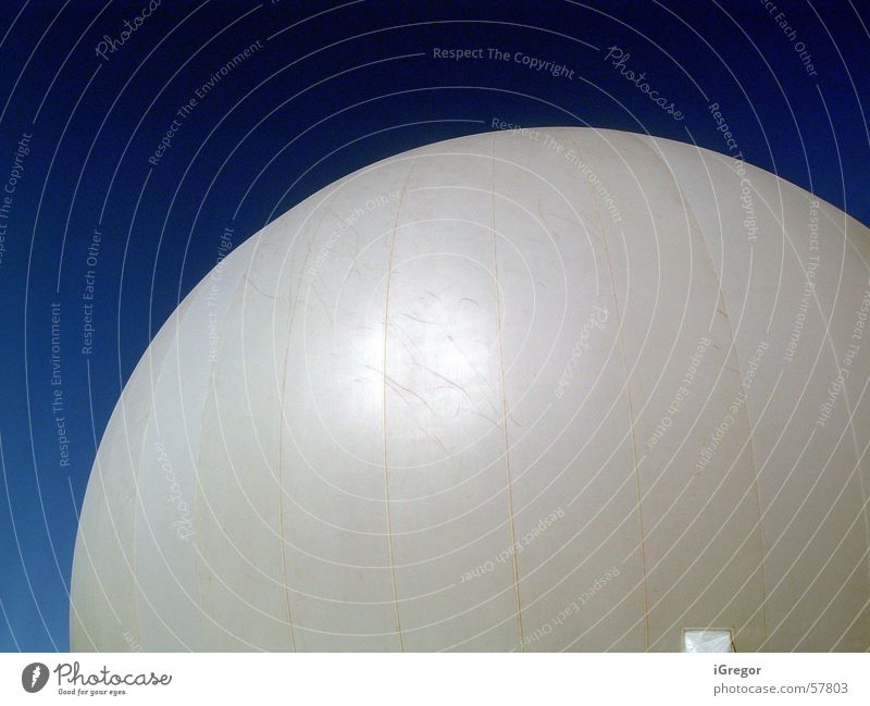 BigBaloons Montreal Sphere blue sky