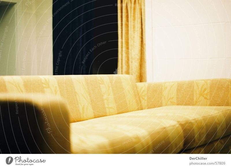 sofa Sofa Yellow Sharp-edged