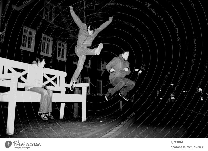 Boredom in GT Boy (child) Absurdity Jump Hop Might Girl Stunt Flying Bench Large Sit Joy