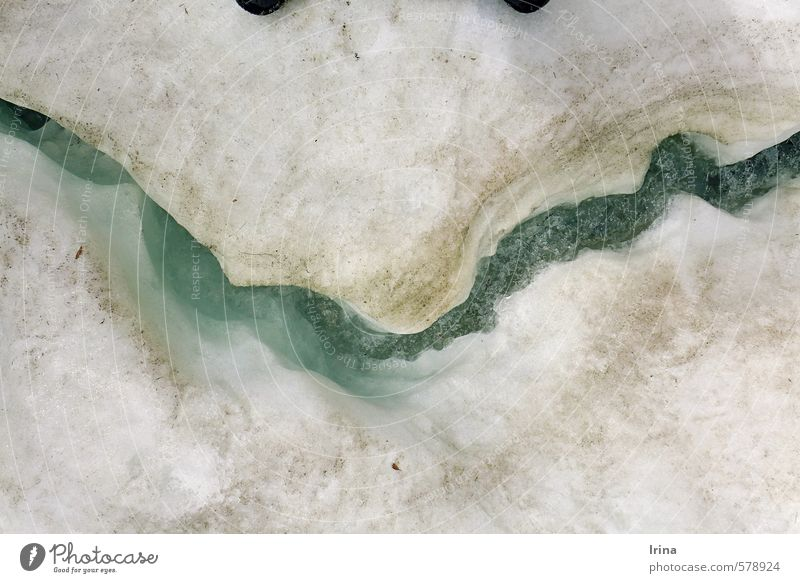 White Water Joy Winter Cold Snow Funny Exceptional Ice Smiling Mouth Happiness Elements Uniqueness Frost Frozen