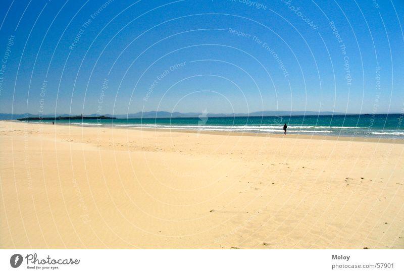 Sky Ocean Summer Beach Vacation & Travel Far-off places Sand Wind To go for a walk Spain Atlantic Ocean Andalucia Tarifa