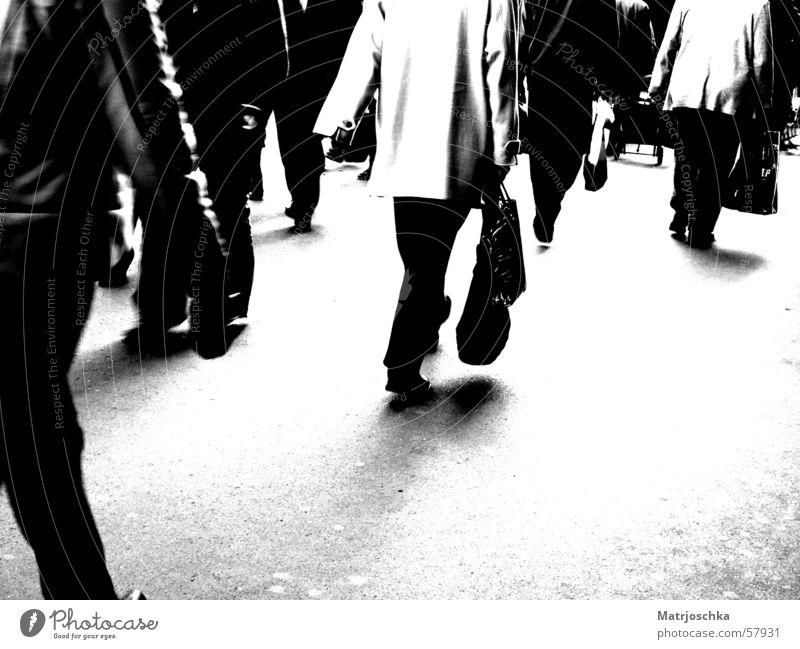 Petersburg legs Black & white photo Exterior shot Copy Space bottom Shopping Human being Legs Pedestrian precinct Overpopulated Street Walking St. Petersburgh
