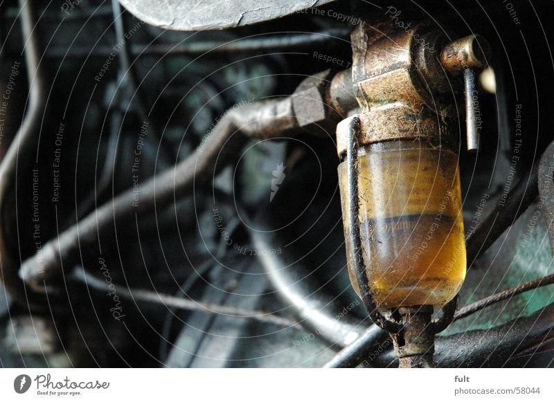 oil Oil level check Hose Lubricant oil inspection window trekker Old Technology