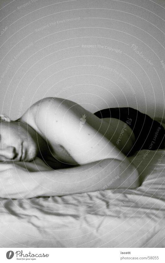 Man Beautiful Arm Sleep Bed Lie Fatigue