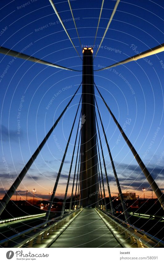 Sky Street Tall Bridge Monument Manmade structures Spain