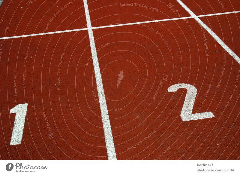 White Red 1 2 Walking Beginning Olympics Tartan Hundred-metre sprint Running track