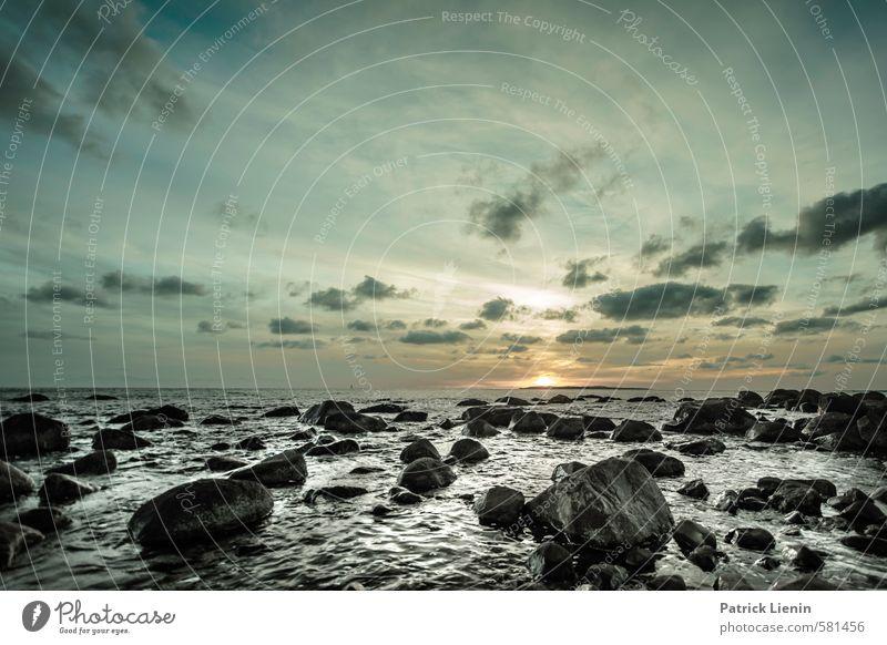 happy ending Environment Nature Landscape Elements Air Water Sky Sun Sunrise Sunset Weather Waves Coast Ocean Moody Joy Loneliness Uniqueness Elegant Energy