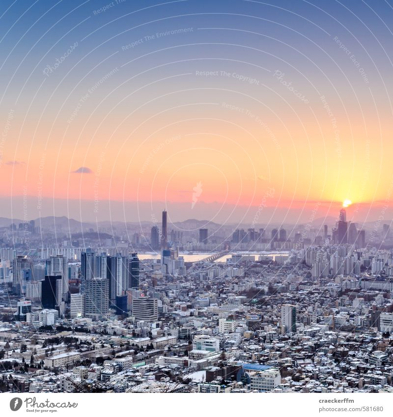 Seoul South Korea Town Capital city Skyline House (Residential Structure) High-rise Vacation & Travel Dream Living or residing Adventure Esthetic N Tower