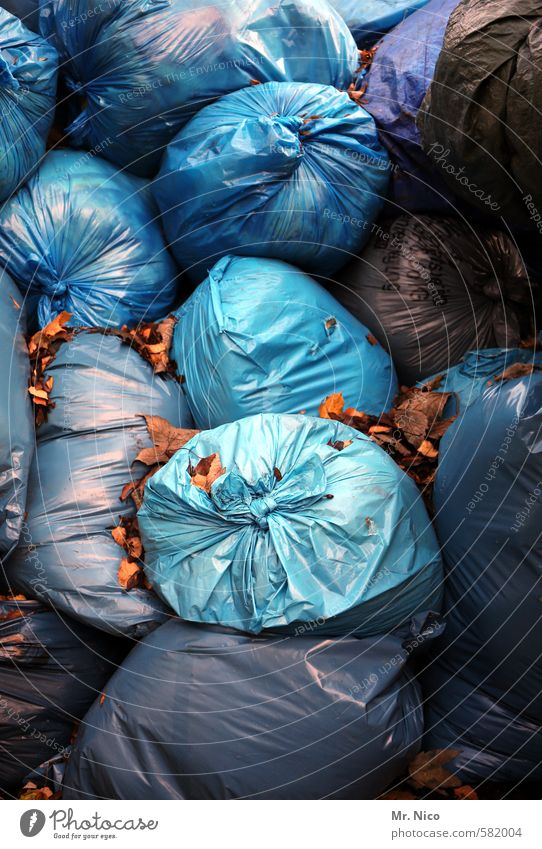 Blue Dirty Arrangement Clean Plastic Violet Trash Trashy Muddled Container Packaging Recycling Knot Heap Untidy Cleanliness