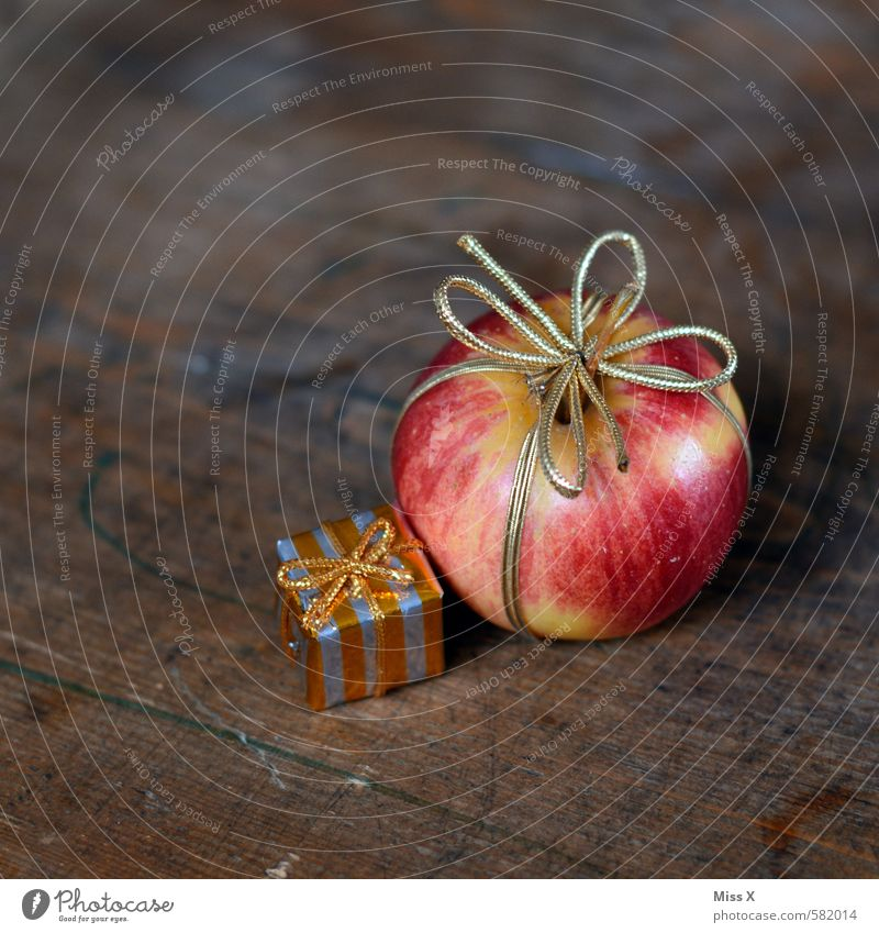 Christmas & Advent Healthy Eating Wood Feasts & Celebrations Food Fresh Gold Birthday Nutrition Gift Sweet Delicious Organic produce Apple Luxury