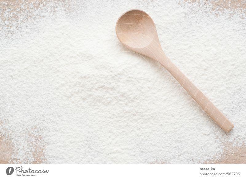 flour White Colour Natural Brown Design Decoration Fresh Kitchen Bread Bowl Tool Sugar Surface Wheat Heap Pizza