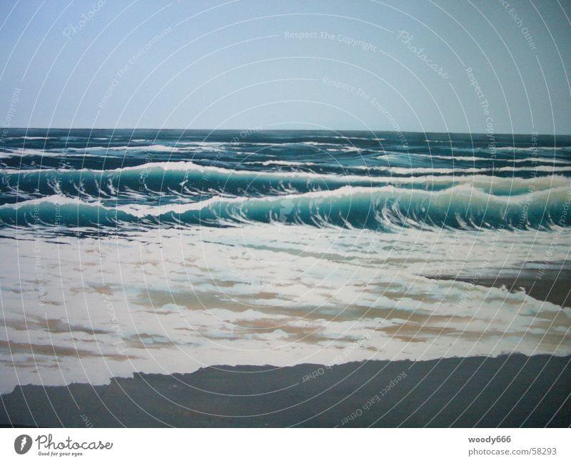 Water Ocean Beach Far-off places Autumn Lake Sand Horizon Surf Sylt