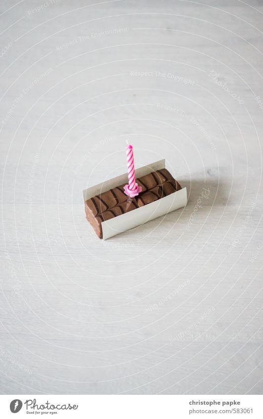 Joy Happy Feasts & Celebrations Birthday Nutrition Sweet Candle Kitsch Candy Chocolate Jubilee Tartlet Birthday gift Birthday wish