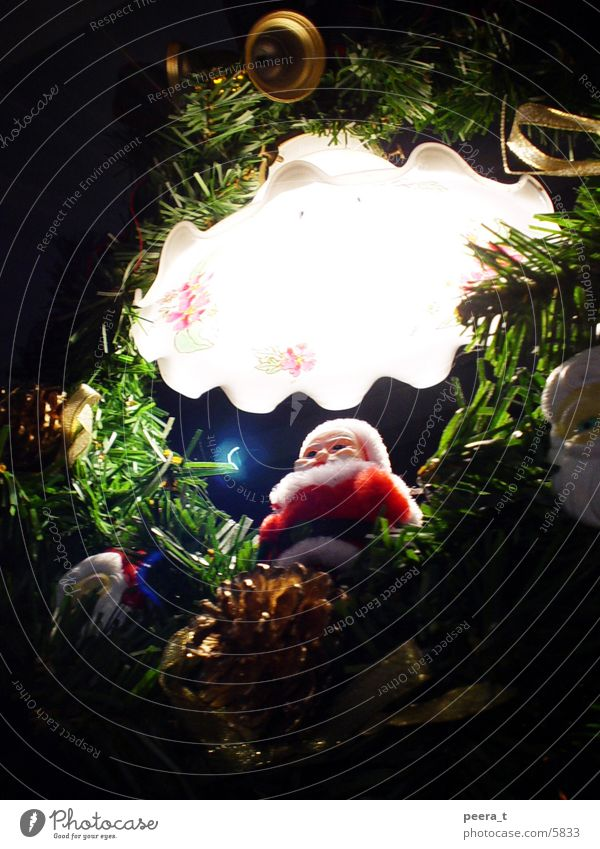 santa claus Light Santa Claus Photographic technology Christmas & Advent