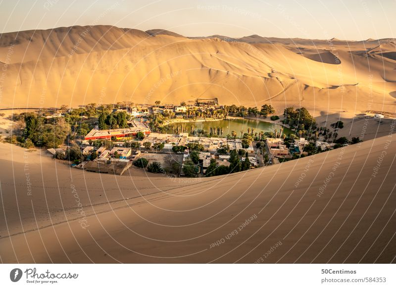 Oasis in the middle of the desert, Huacachina - Ica Peru Vacation & Travel Tourism Trip Adventure Far-off places Freedom Sightseeing City trip Safari Expedition