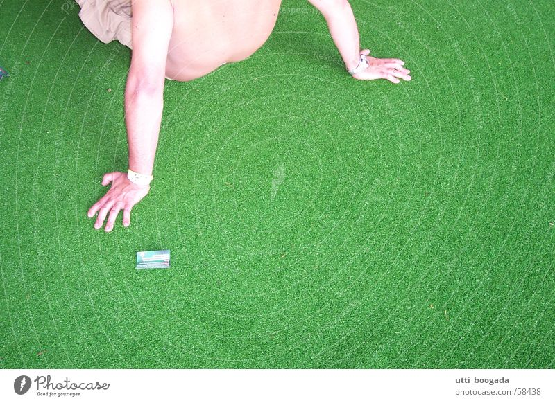 green grass Italy Relaxation Interior shot man colored prospective