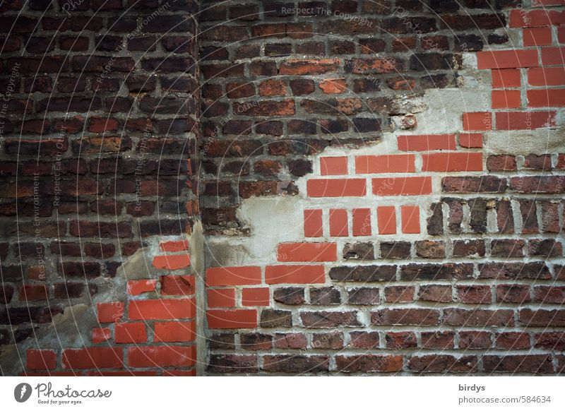 Old City Wall (building) Senior citizen Wall (barrier) Exceptional Change Brick Brick wall Variable Repaired