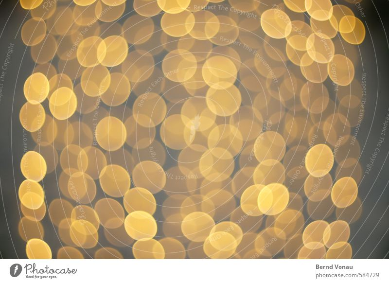 Yellow Gray Lamp Orange Gold Circle Round Downtown Hover Transparent Dreamily Seventies Christmas decoration Superimposed Group of objects