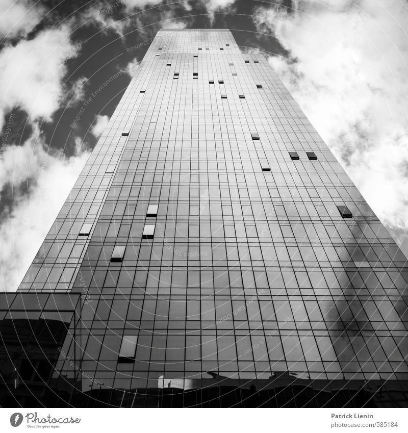 City Clouds Window Building Architecture Exceptional High-rise Modern Tall Esthetic Energy Infinity USA Manmade structures Downtown Sharp-edged