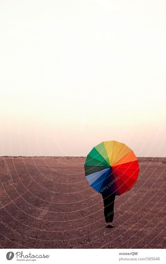 I.love.FV XXXIX Art Esthetic Contentment Creativity Idea Umbrella Prismatic colors Multicoloured Sunshade Landscape Exceptional Patch of colour Colour photo