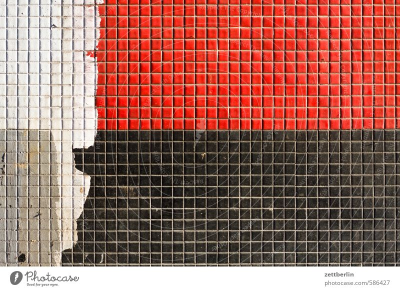 Colour House (Residential Structure) Wall (building) Wall (barrier) Stone Line Facade Construction site Manmade structures Flag Tile Division Square Checkered