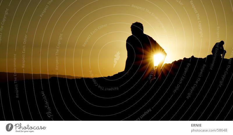 Man Sun Vacation & Travel Black Mountain Think Bright Chile