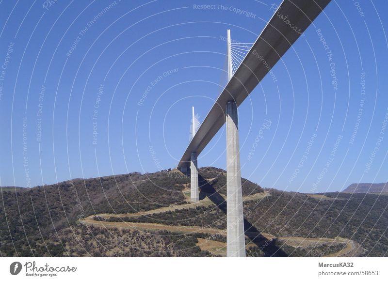 Bridge near Millau/Cevennes/Southern France Cévennes foster