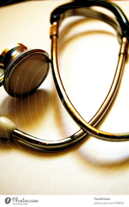 Stethoscope 1 Craft (trade) Midwife Pregnant Listening Hose Outer ear Obstetrics heart tones Metal