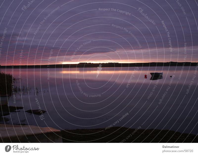 sunrise Lake Ocean Calm Romance Loneliness Moody Sun Sky Water