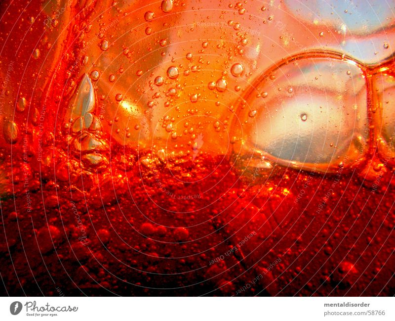 Water Red Air Background picture Glass Walking Circle Round Cleaning Clarity Concentrate Fluid Blow Fragrance Bubble